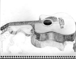 Guitar by melodicfeline