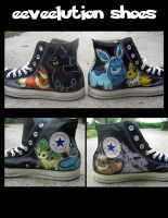 Eeveelution shoes SOLD by Miss-Melis