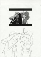 Marceline and PB by BDOG375