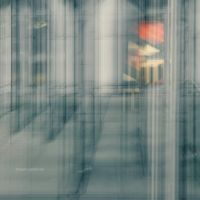 behind the glass by VisitingFahrrad