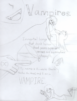 The Journal. . . Minicomic! Page 1 by Blue-Vampire-Queen