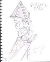 Vigorexia Pyramid Head by abichobitsmoon