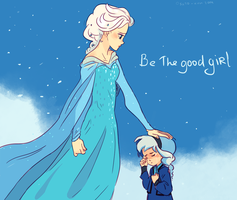 Be the good girl by Osato-kun