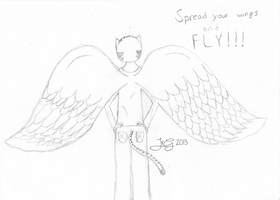 Spread your wings and Fly! by darking694