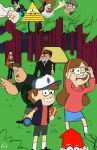 Welcome to Gravity Falls (no shading) by ThatOtherGuy19