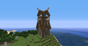 Nordic Guard Tower by badguy65
