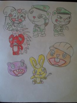 My favourite HTF charecters by MasterMudkip7742