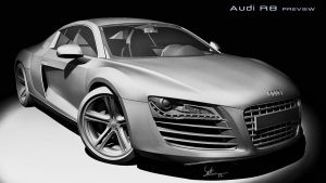 Audi R8 whip 3 by yamell