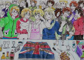 Hetalia- Birthday Party at Iggy's by kitty614