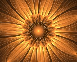 fractal flower by Kaish