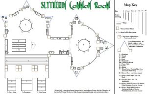Slytheirn Common Room Map by Arien-Drakon
