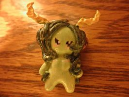 Forestsprite Chibi Charm (pic 1 of 3) by TheGhostlyPoet