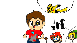 Villager Is Coming To Town by fistpump123