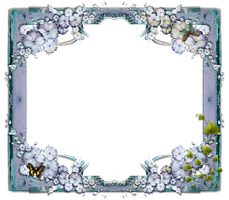 Butterfly Frame png by mysticmorning