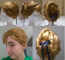 Coronation Anna wig test by 77Flower77