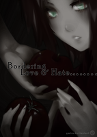 Bordering Love and Hate Doujinshi: [Cover/Summary] by ymira