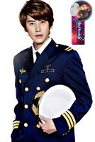 Kyuhyun Captain Cho Render 01 by Unii-Hime182