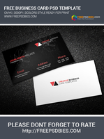 Scientific Business Card Free Psd Download by Designhub719