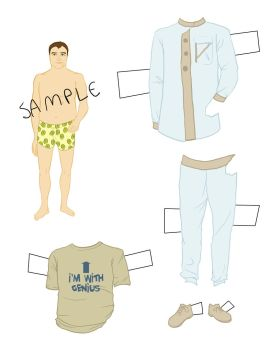 McKay Paper Doll Expansion1 by GeniusBee