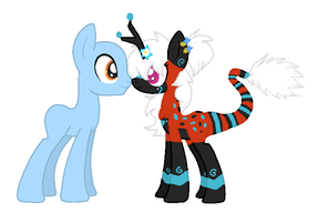 Spaztic Winter Breedable (FREE BRUH) by Kyah-Pony-Adoptables