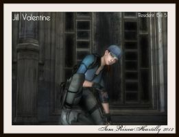 RE5 Jill Valentine by IamRinoaHeartilly
