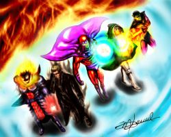 Marvel vs Capcom 3 Bad Guys by Maruceru