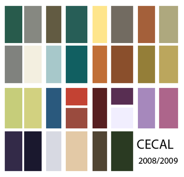 cecal colors swatches by S02