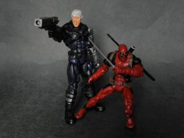 ML Cable and Deadpool by LuXuSik