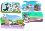 PAW Patrol Style Doodles by Musicalmutt2
