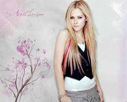 Avril Lavigne Wall II by MartyPunk13