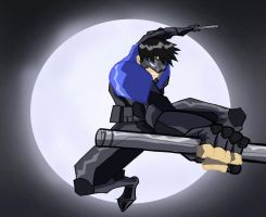 Nightwing by Chrisgemini