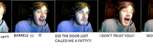 facecomp PewDiePie: Amnesia: The Small Horse by wazzalord3