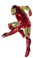 Iron Man cor by Brunoultimate