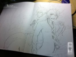 Bleach - Backup - Sketch by IFrAgMenTIx