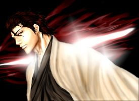 Bleach - aizen3 by evangelion-2100