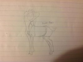 cream foal ref wip by Kryptic-Stable-Nordy