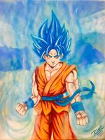 Goku resurection by Rene-L