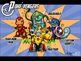The Poke-Vengers! by SuperAiko