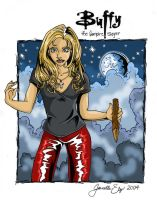 BUFFY ON PATROL by Angel-vs-Buffy