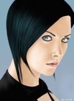 Charlize Theron Aeon Flux by XxnoitcelferxX
