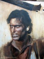 Ash Army of Darkness WIP by Martinkumnick