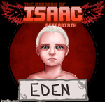 The Binding of Isaac Afterbirth Eden Gif by AlmaGKrueger
