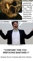 Red Dwarf - The Inquisitor VS The Go Compare Man by DoctorWhoOne