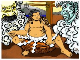 Tokyopop Sumo Contes Runner up by chimera15