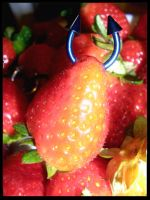 Strawberry Piercing by Angelinaaa