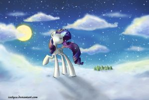 Rarity in the snow by Izelyca