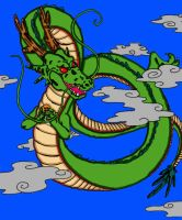 The Almighty Shenron!!!!!! by Demon0fDarkness