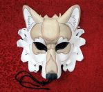 Dire Wolf, cream beige white by merimask