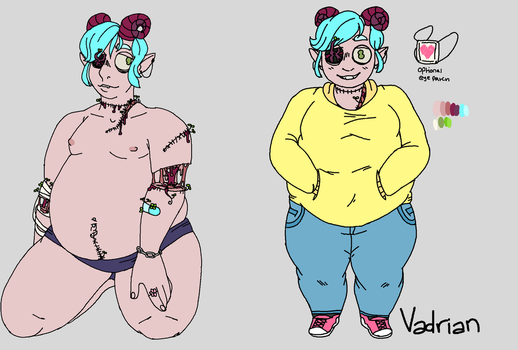 Vadrian Reference Sheet by retronome