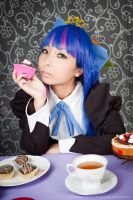 Stocking Tea Time with cakes by andyamasaki